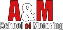 A & M School of Motoring Logo